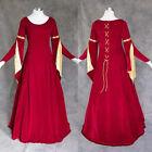 Medieval Renaissance Gown Dress LARP Costume Wedding 3X
