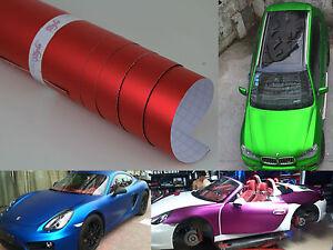 Intelligent Icy Chrome Mat Vinyle Wrap Feuille Autocollant Voiture Feuille De Bulle Air 100mm X 200mm-afficher Le Titre D'origine