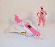 """4"""" Pink Ranger 6.25"""" Crane Ninjazord McDonald's Action Figure Power Rangers 1995"""