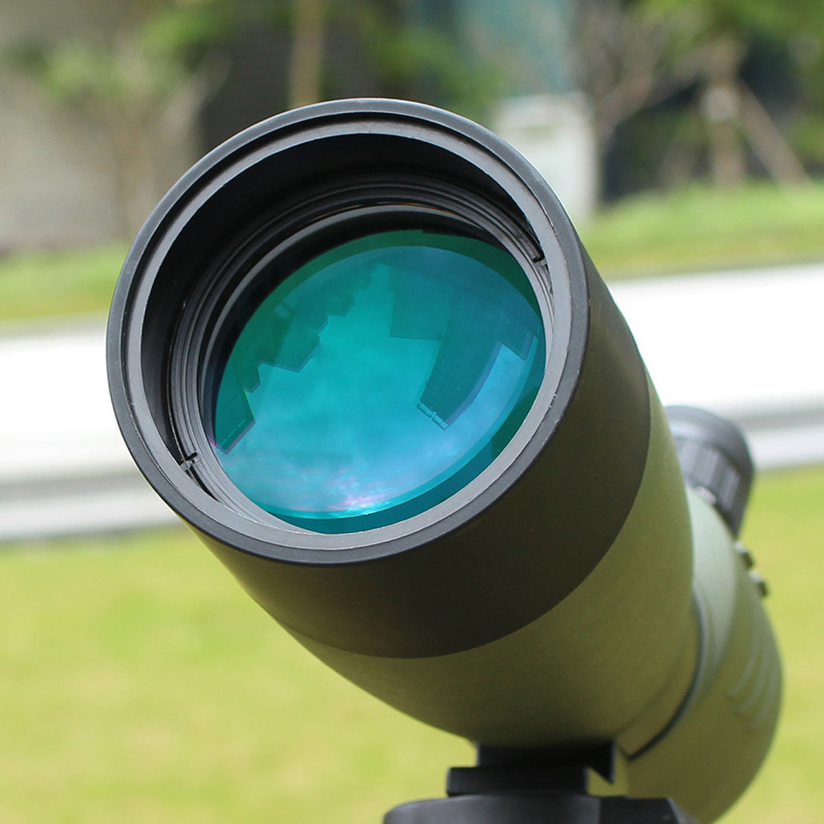 SVBONY FMC 25-75x70mm w/ Angled Zoom Spotting Scope w/ 25-75x70mm Tripod &Cell Phone Adapter 2b4e86