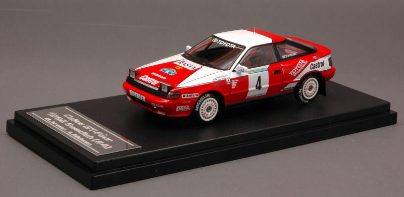 Toyota Celica  4 Winner Sweden 1992 1 43 Model 8146 HPI RACING