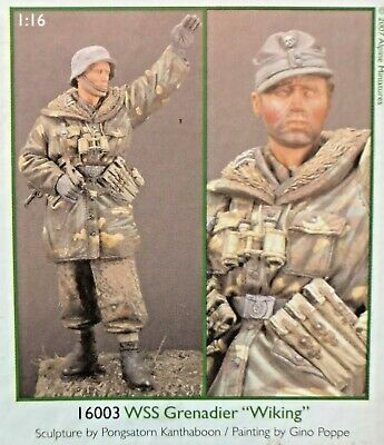 1/16 120mm Resin Figure Alpine Miniatures Waffen Ss Granadier Wiking. New. Valore Eccezionale