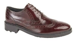Ted Oxford Brogues Roamers M179 Förmliche Schuhe Komfort 5 Öse 6WqIXnI5