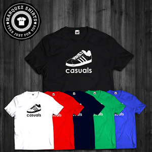 5e832681c Image is loading T-Shirt-Casuals-Gazelle-Hooligans-Football-Calcio-Away-