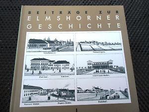 Beitraege-zur-Elmshorner-Geschichte-Band-1-Erstausgabe-1987-Vergriffen-wie-neu