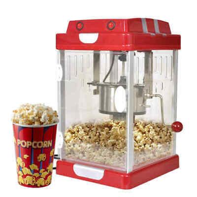 Popcornmaschine Popcornmaker Popcorngerät  Kino-Style 2,5 OZ Popcornautomat DE