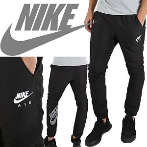 bdec6ac42d Mens New Nike Air Tracksuit Woven Cuffed Bottoms Joggers Track Pants ...