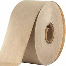 Water Activated Reinforced Seal Packing Tape Kraft Brown 275 X 450 Ft