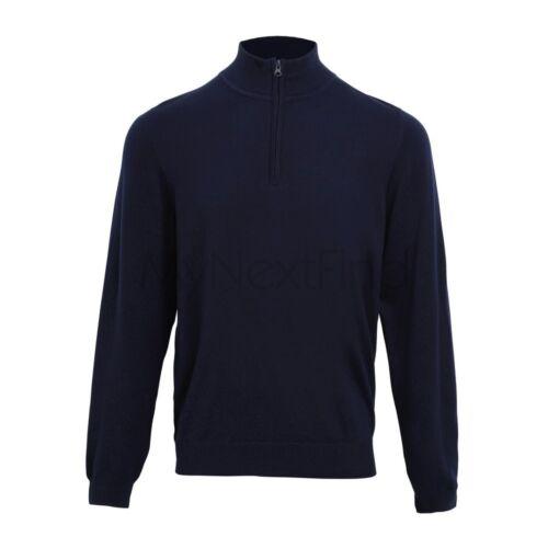 Premier Workwear 1//4 Zip Knitted Sweater