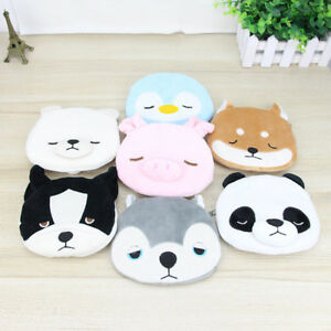 c738c779e7 Lovely Animal Coin Bag Women Mini Purse Kids Cartoon Plush Cute ...