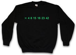 Sudadera Loterᄄᆰa Cᄄᆴdigo perdido Nᄄᄇmero Dharma Hurley Nᄄᄇmeros Computadora Pullover Hugo 6R5UqUX