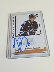 Nathan-Bastian-Custom-Card-Future-Watch-Auto-Signed-In-Person-Rookie-Rc