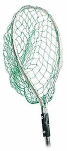 SHURHOLD Small Stainless Steel Fishing Net with Clip-on Mounting 30x33x38cm