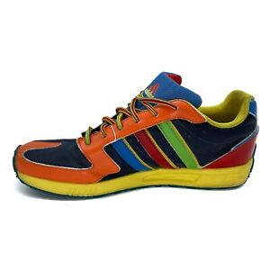 Rare Adidas MultiColor Shoes Classic 2008 Low Colorful Rainbow 7 Men / 9 Womens