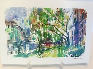 Misha-Lenn-034-Commonwealth-In-Bloom-034-Signed-Seriolithograph-with-COA