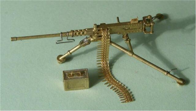 1//72 .50 Cal M2 Etats-Unis Browning Machine Gun//W plié Trépied