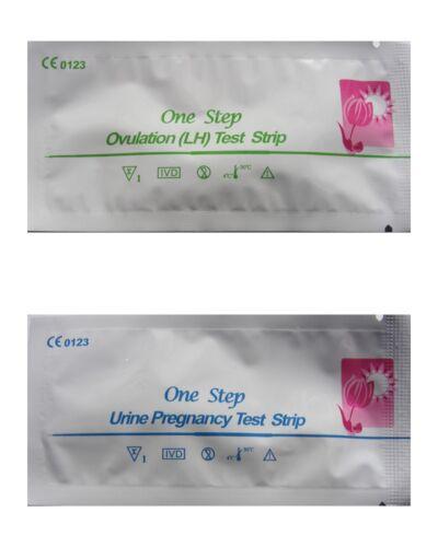 50 Ovulationstest 15 Schwangerschaftstests BLITZVERSAND LH 25mIU//ml hCG 10mIU//ml