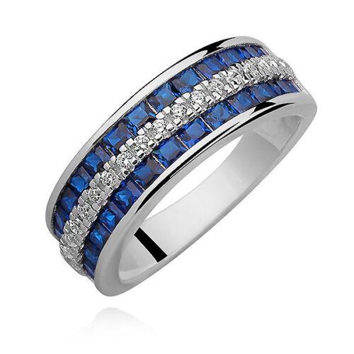 Anillo de mujer anillo de plata 925 plata con circonita san valentín boda cumpleaños