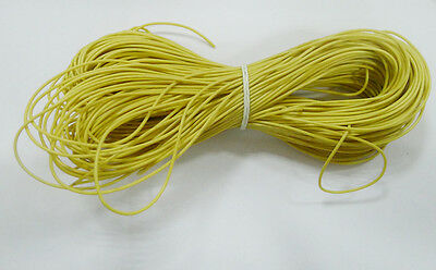 10M UL-1007 24AWG Hook-up Hot Sale Wire  80°C / 300V Yellow  Cheap
