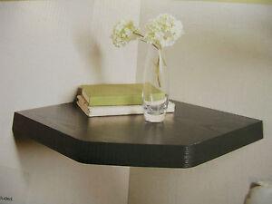 Image Is Loading New Floating Corner Shelf White Effect Oak