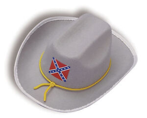 Boy-039-s-Costume-Civil-War-Hat-Robert-E-Lee-Child-School-Play-Historical-Project