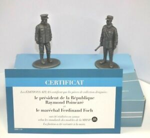 Atlas Editions 1/24 President Poincare & Marshall Foch HE13