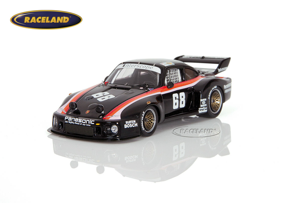 Porsche 935 Interscope le mans 1979 Minter Ted Morton, Spark modelo 1 43, s4164