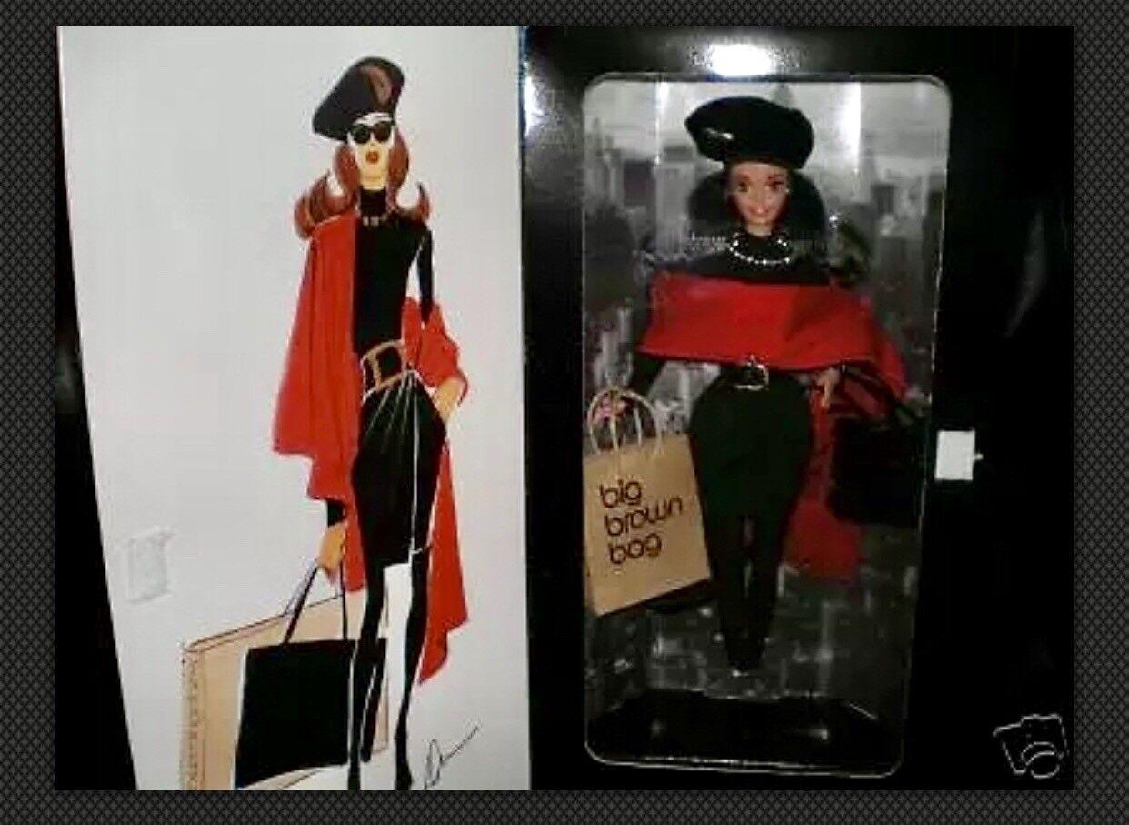 1995 mujer Karan New York Barbie-Morena Dkny En Caja
