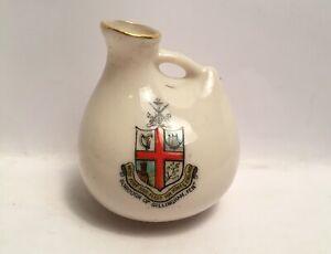Vintage-Crested-China-Borough-Of-Gillingham-Kent