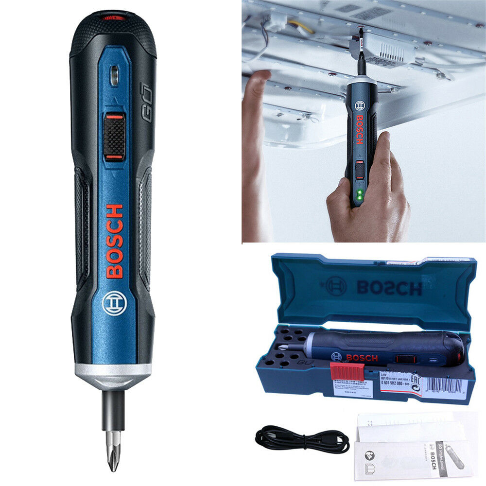 Bosch Gehe 3.6V Elegant Akku-Schrauber Elektrisch Schraube Werkzeug Top Qualität