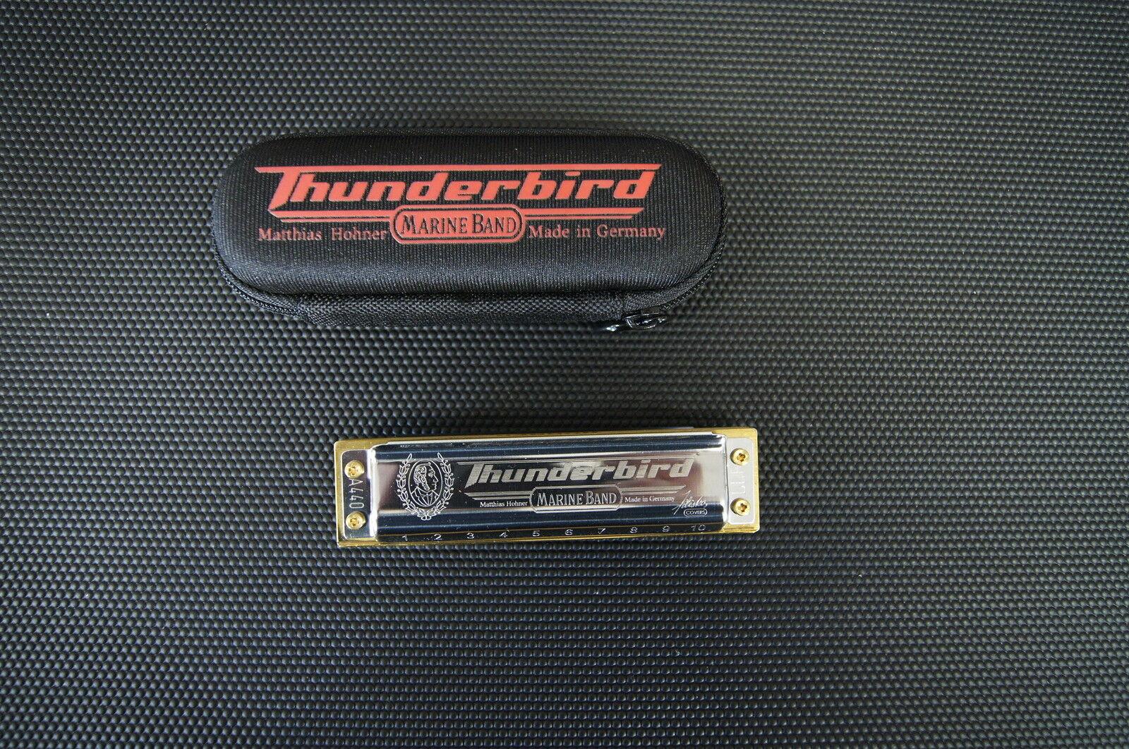 Hohner Marine Band Thunderbird Harp Harmonica Key Of LOW D