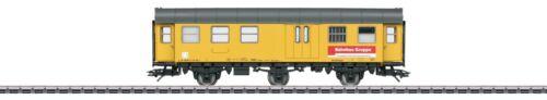 """Märklin H0 49969-01 Werkstattwagen /""""Bahnbaugruppe/"""" der DBG OVP NEU"""