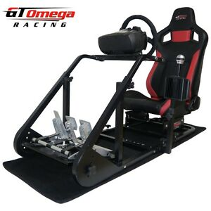 Details about GT Omega ART Simulator Cockpit RS6 for Fanatec Clubsport  wheel pedal, SQ Shifter