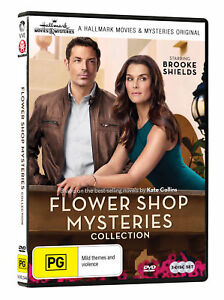 Flower-Shop-Mysteries-Collection-1-DVD-Hallmark-Mysteries-1-3-New-Sealed-R4