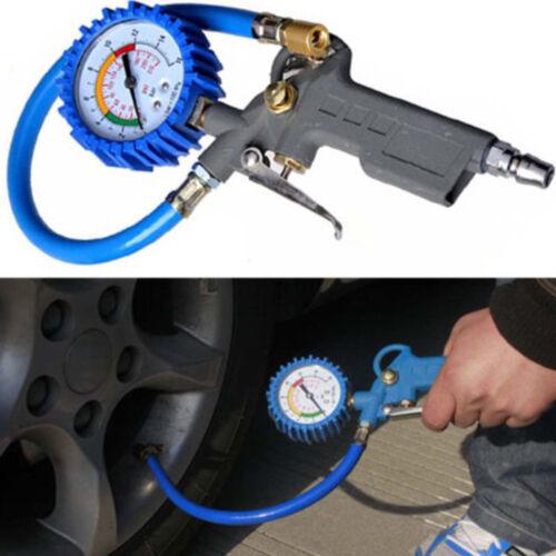 Air Tire Inflator High Accurate Digital Pressure Gauge Clip For Car Truck OPL