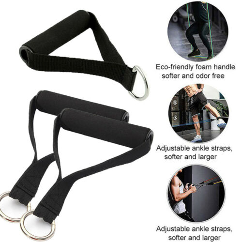 Training Handle Pull rope handle Resistance Bands Rally accessories Fitness Gym