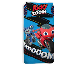 Completo Letto 1 Piazza Ricky Zoom 100/% Cotone