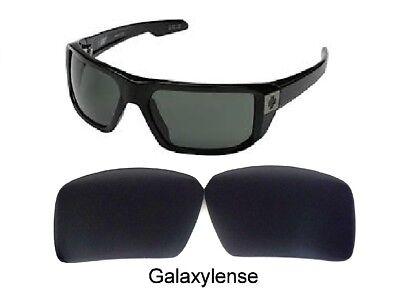 Capace Galaxy Lenti Di Ricambio Per Spy Optic Touring Occhiali Da Sole Nero Polarizzati Forma Elegante