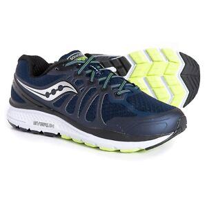 wholesale dealer fc4ec a3471 Details about Saucony Echelon 6 Men's Running Shoe Sz 10 Wide Navy/Citron