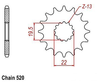NEW JT REAR STEEL SPROCKET 40T SUZUKI LT230E LT 230E 1986-1993