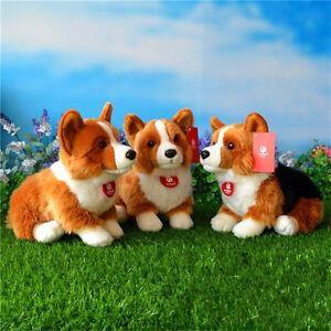 Corgi-Dog-Puppy-Plush-Soft-Toys-Stuffed-Animal-Doll-Cushion-Kids-Birthday-Gift