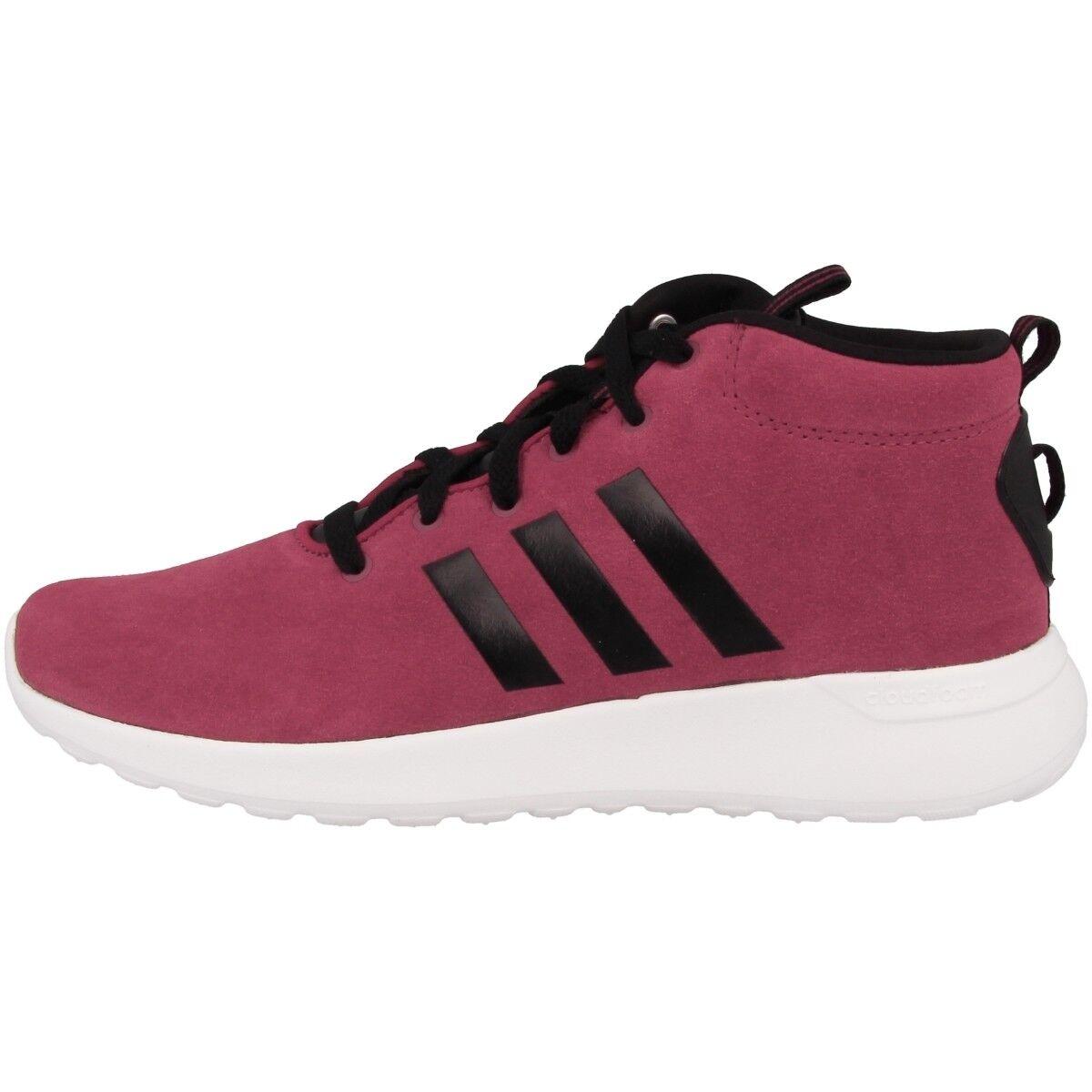 Adidas NEO CF Lite Racer Mid Cut Sneaker Freizeit Schuhe burgundy black CG5705