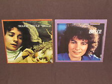 MARIE-PAULE BELLE 2 LP RECORD ALBUMS LOT COLLECTION French Made in Canada