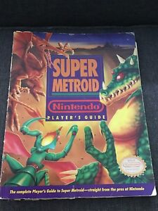 Super-Metroid-Player-039-s-Guide-Strategy-Super-Nintendo-Book-SNES-Official-power
