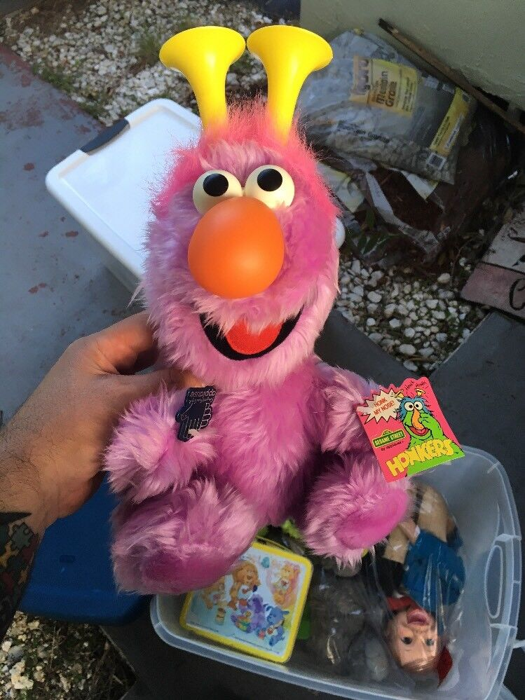 SESAME STREET HONKERS PLUSH APPLAUSE WITH TAGS 8
