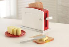 Kidkraft Busy Bakin' Toaster Pretend Set For Kids 63355 New