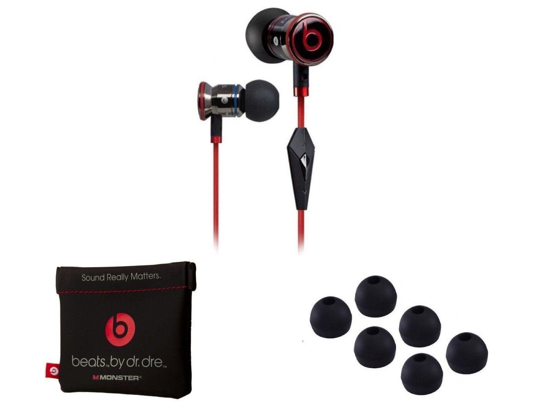 USA SELLER-Original Beats by Dre iBeats In-Ear Headphones Earphones BLACK NEW 1