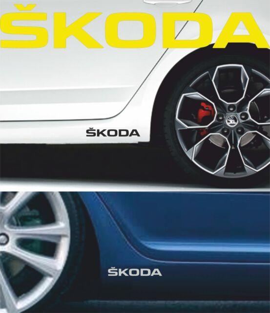 2 x Skoda 001