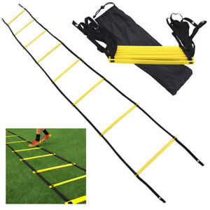 8-Rung-Agility-Speed-Training-Ladder-Footwork-Fitness-Football-Workout-Exercise