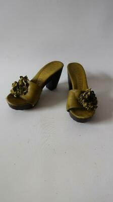 Size 10.0 Daya by Zendaya Womens Marina Leather Open Toe Casual Silver Met